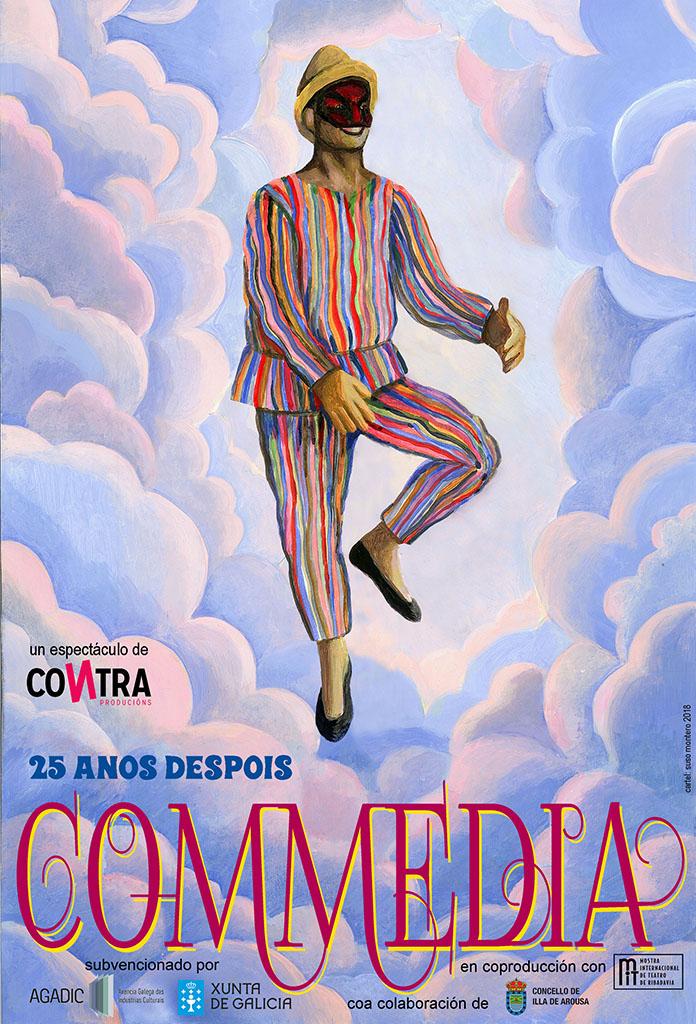 Cándido Pazó reestrea en Ribadavia a súa <i>Commedia</i>