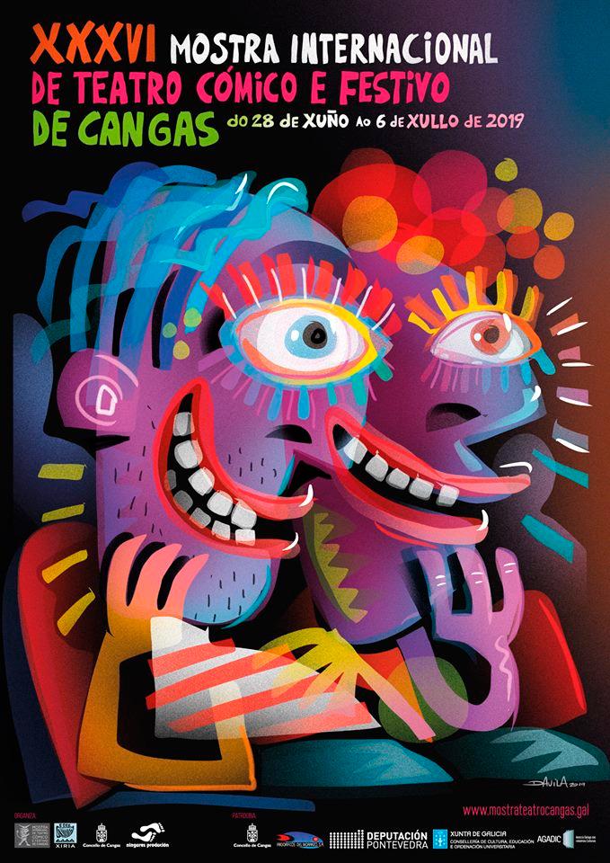 A Mostra Internacional de Teatro Cómico de Cangas acollerá cinco estreas absolutas