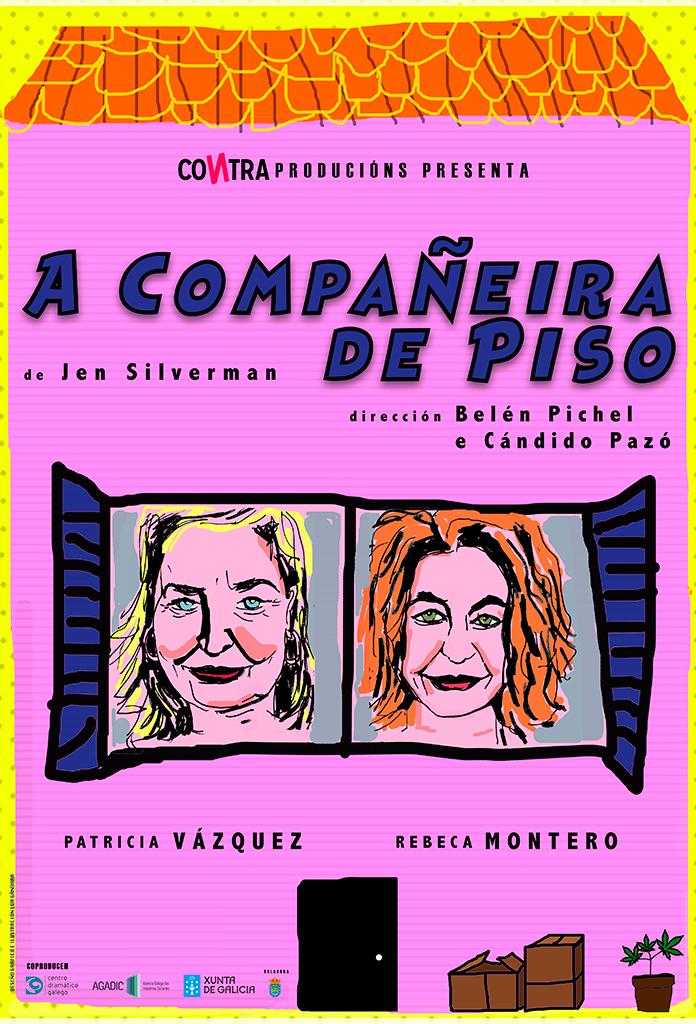 A obra protagonizada por Patricia Vázquez e Rebeca Montero estréase no Salón Teatro de Santiago
