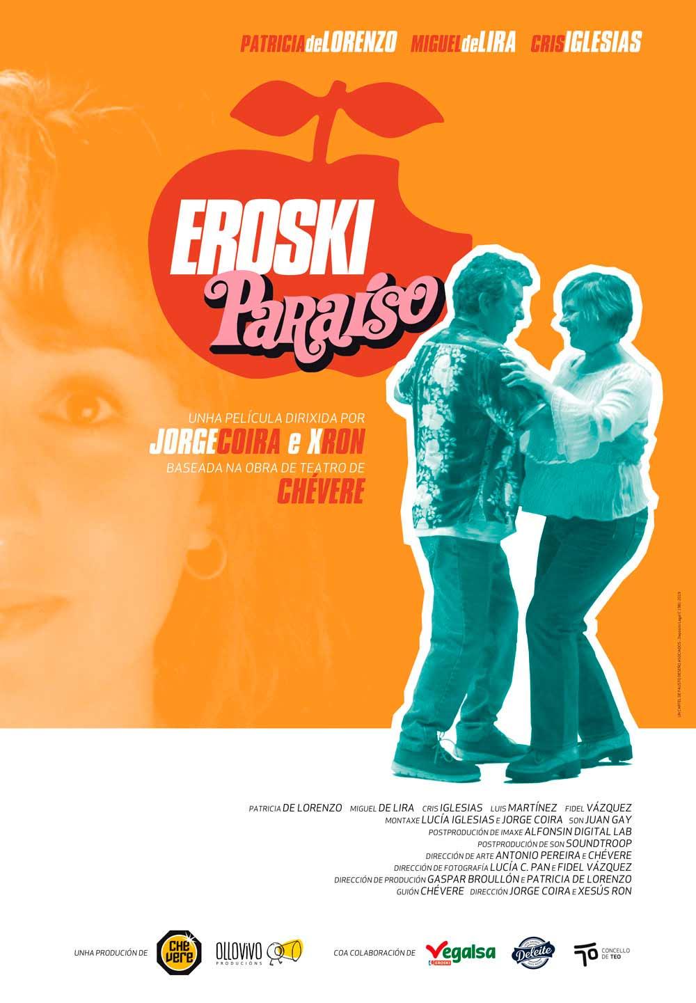 Hoxe chega as salas do país 'Eroski Paraíso', a película da obra teatral de Chévere