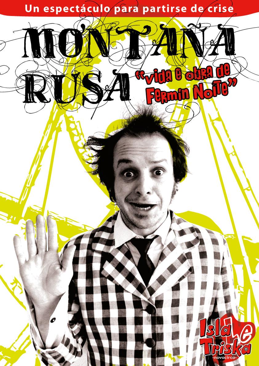 "Isla Le Triska explica a vida e obra dun ""freaky en crise"" en <i>Montaña Rusa</i>"
