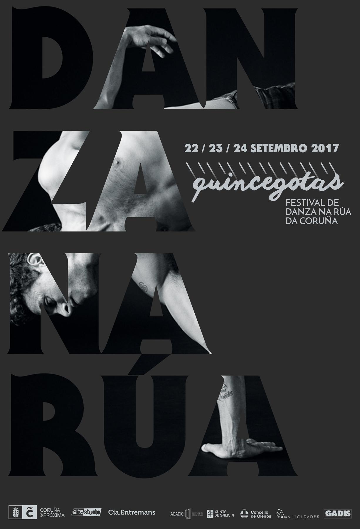 A danza de rúa volve á Coruña no Festival Quincegotas