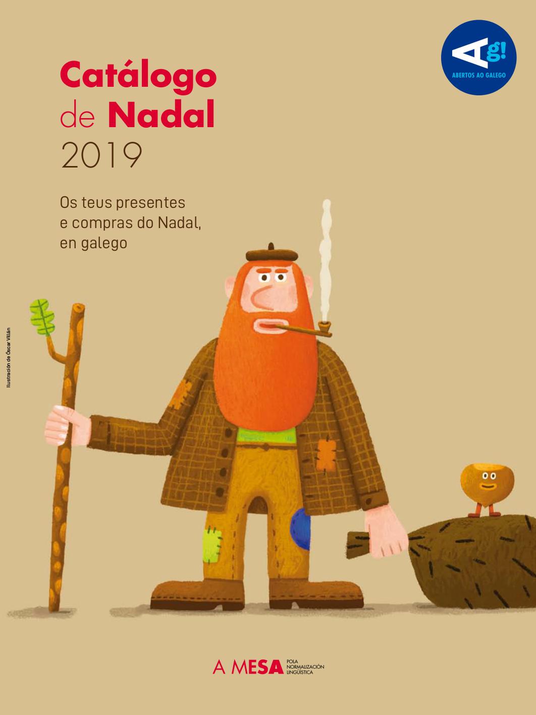 A Mesa presenta o seu catálogo de agasallos en galego para o Nadal