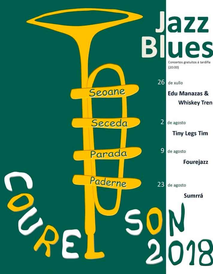 O CourelSon leva o blues e o jazz á serra