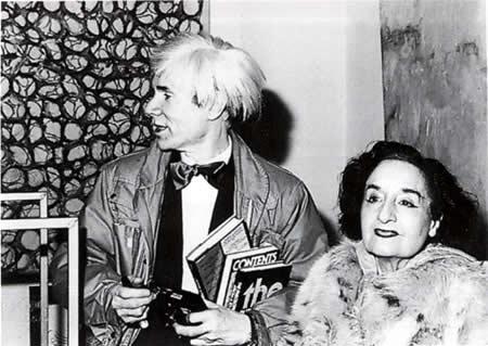Maruja Mallo e Andy Warhol en Madrid