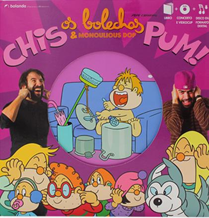 Os Bolechas presentan un libro-CD-DVD con Monoulious DOP