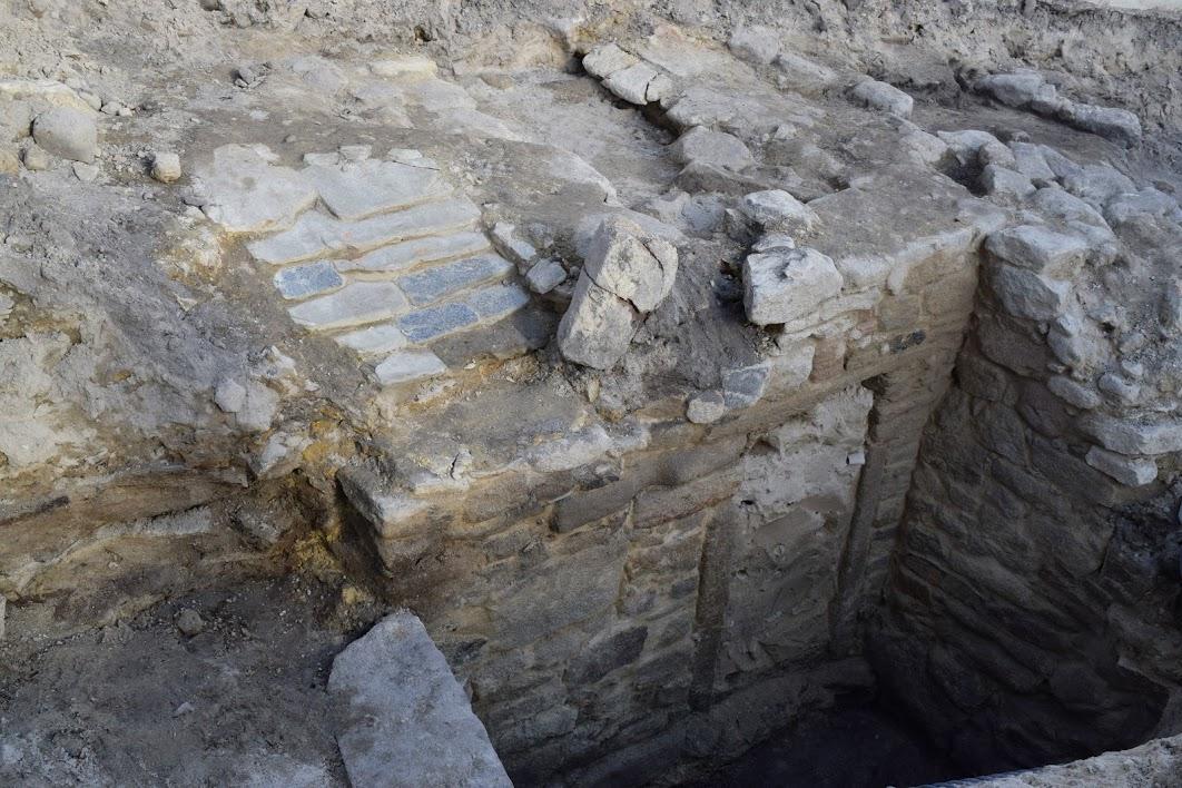 A Xunta ordenou continuar as obras nas que apareceu este monumento