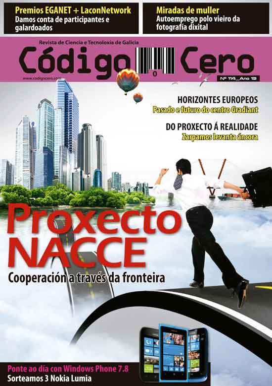 Nacce, o proxecto galego-portugués de dinamización TIC centra o novo número