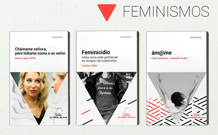 Tres títulos abren a nova liña de catálogo que se presentará durante o Culturgal