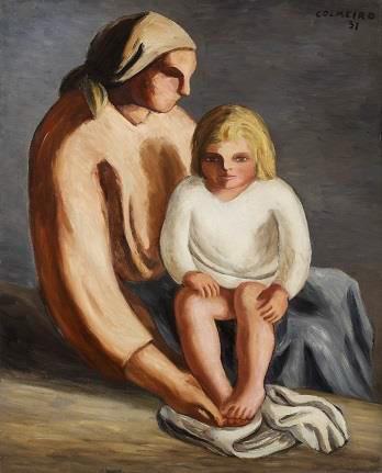 O pintor foi unha figura decisiva na formación do Movemento Renovador da Arte Galega do século XX