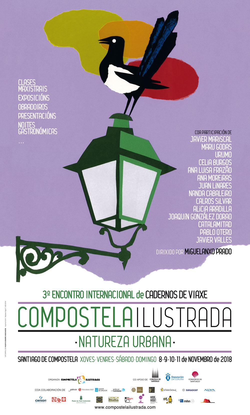 A natureza protagonizará o terceiro encontro Compostela Ilustrada