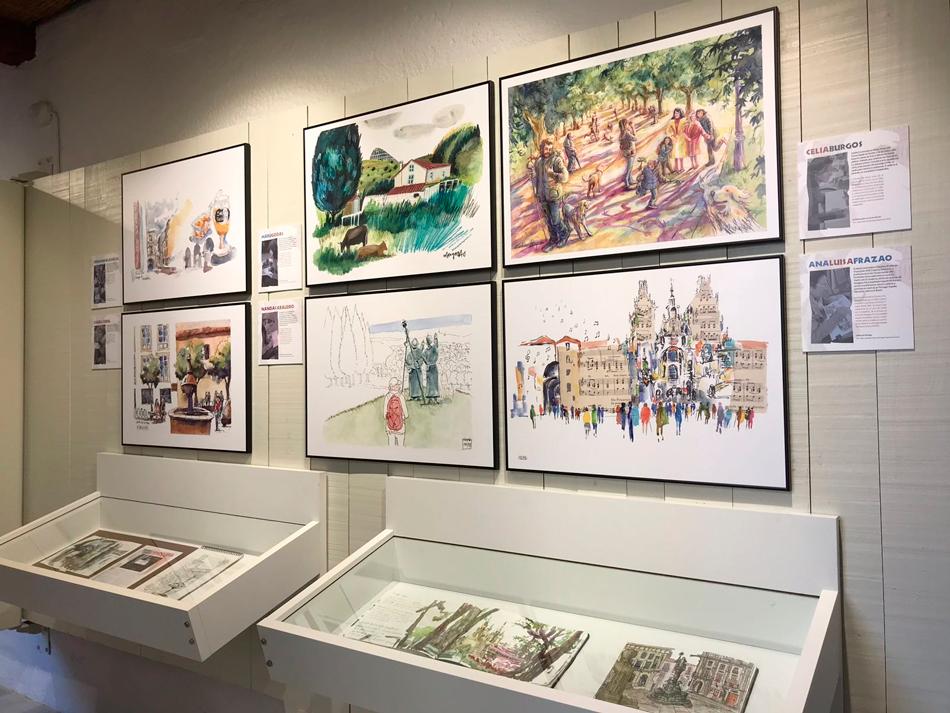 Amosa un cento de obras de 32 artistas de varias nacionalidades realizadas nas rúas da cidade