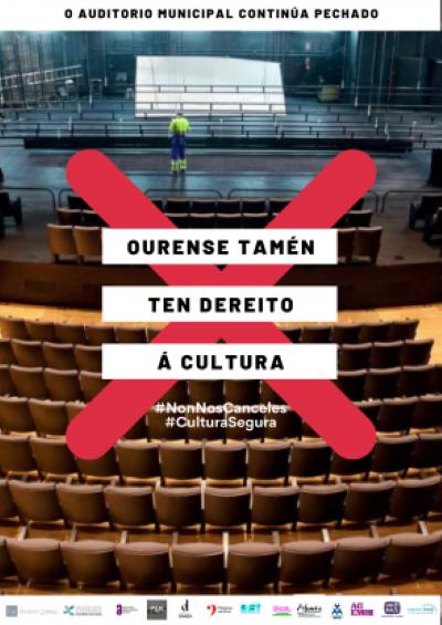Trece entidades representativas asinan un comunicado sinalando a decisión de Pérez Jácome por vulneración do dereito da veciñanza á cultura