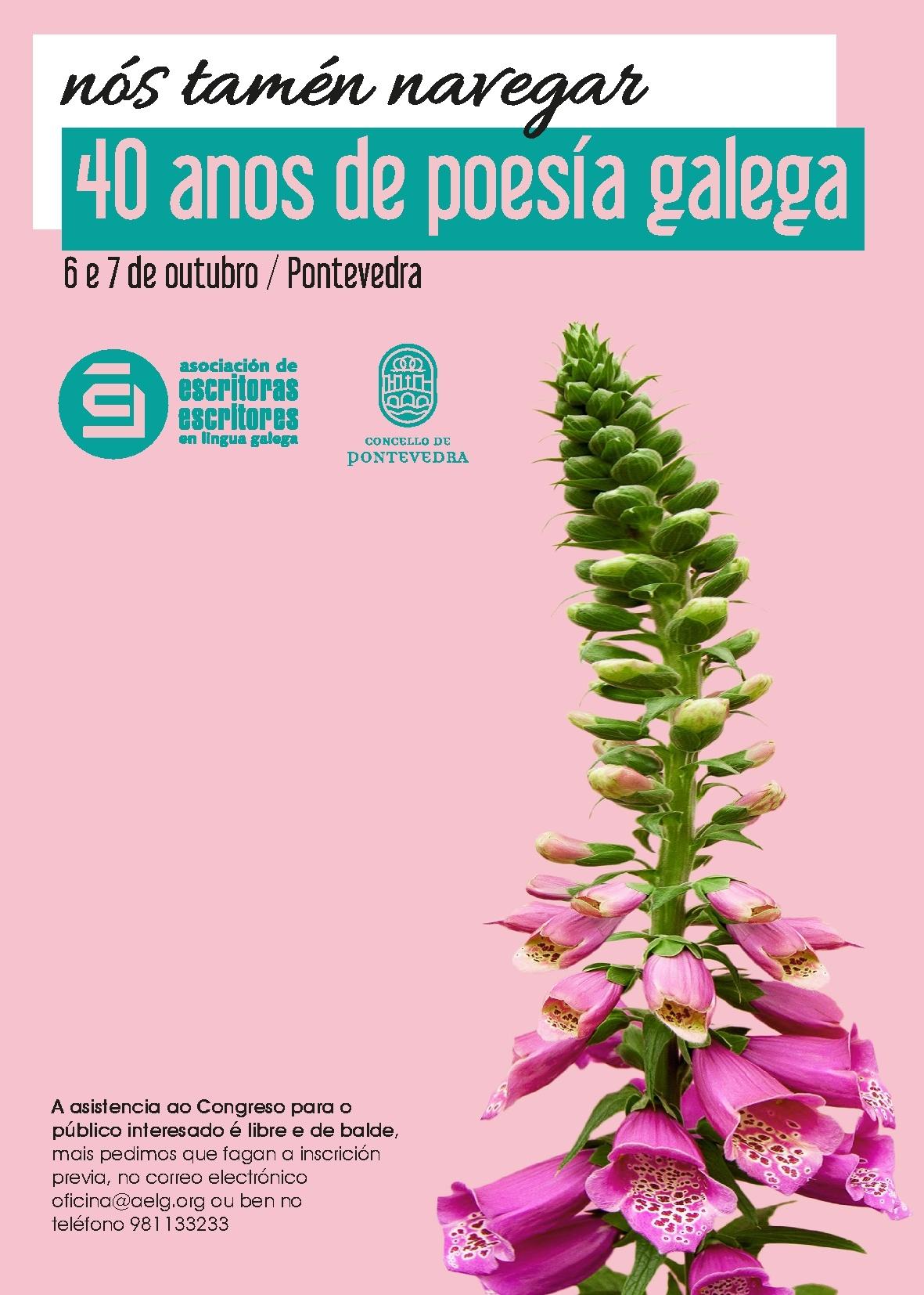 A AELG publica as actas do congreso de poesía <i>Nós tamén navegar</i>