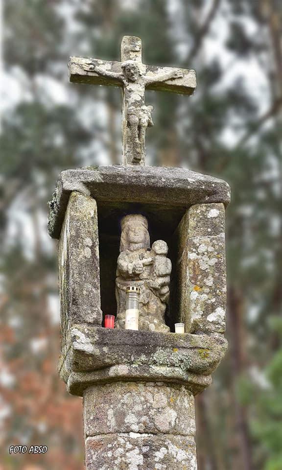 A figura podería ter sido esculpida no século XVI