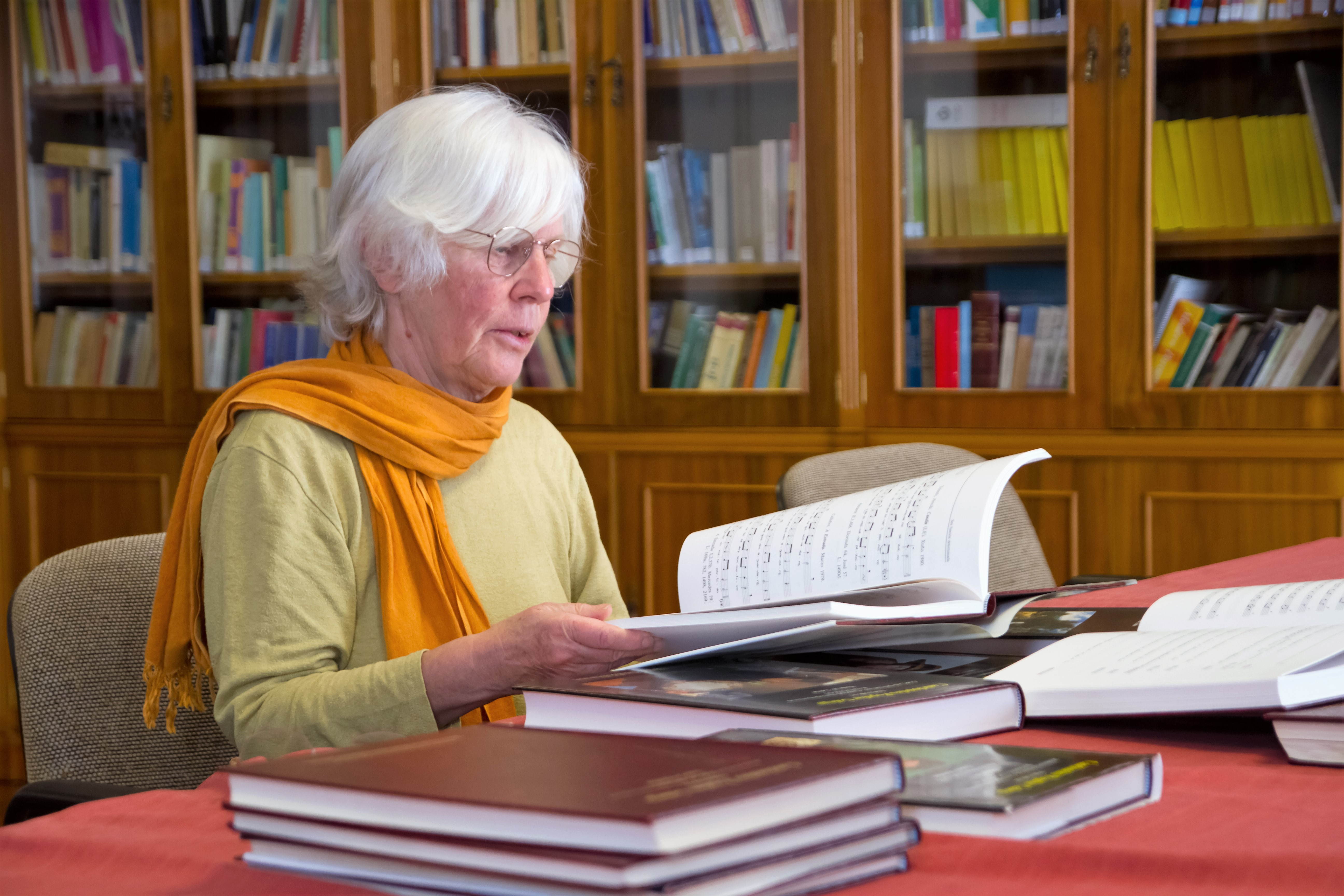 A coautora do <i>Cancioneiro Popular Galego</i> fala sobre o seu traballo con ocasión do Premio Honorífico de Músicos ao Vivo