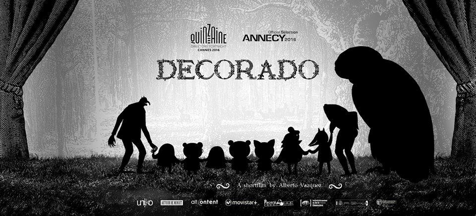 O filme <i>Decorado</i> volta de Annecy cun galardón