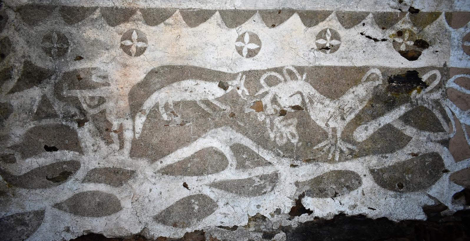 Novas propostas de investigación e divulgación incorporan as decoracións en cal ao patrimonio do país