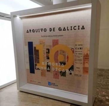 O Arquivo de Galicia celebra o seu décimo aniversario cunha mostra