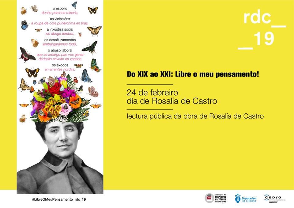 A fundación da poeta e a Asociación de Escritoras convocan conmemoracións para o 24 de febreiro