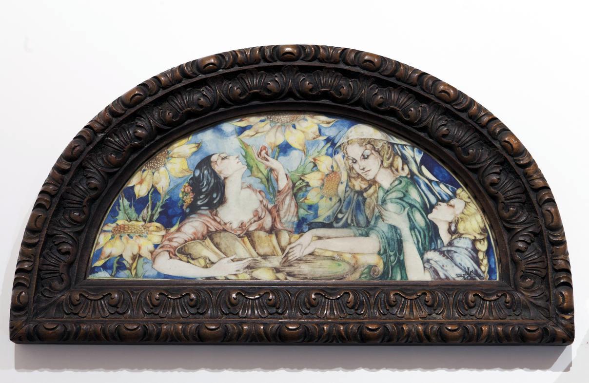 A Biblioteca de Galicia ten aberta ata o 13 maio unha mostra sobre a homenaxeada no Día da Ilustración
