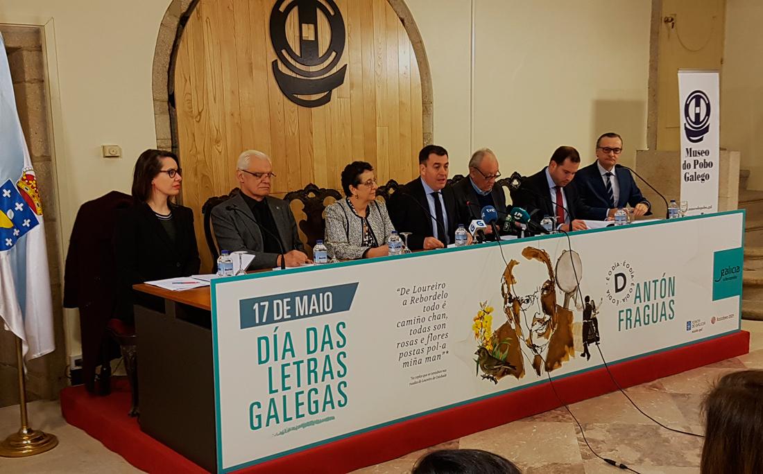 As institucións do país únense arredor da figura de Antonio Fraguas