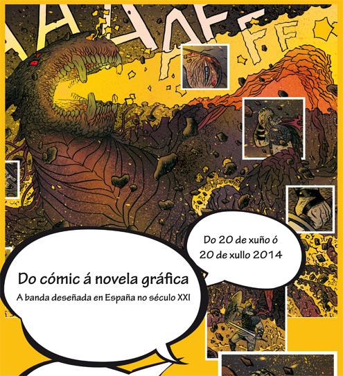 <i>Do cómic á novela gráfica</i> poderá verse ata o vindeiro 20 de xullo