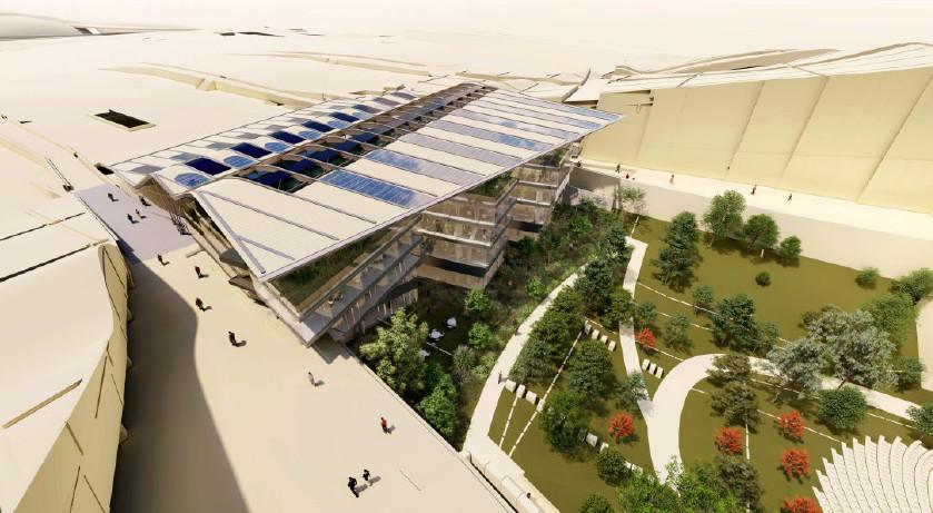 O Edificio Fontán do Gaiás estará rematado en 2020