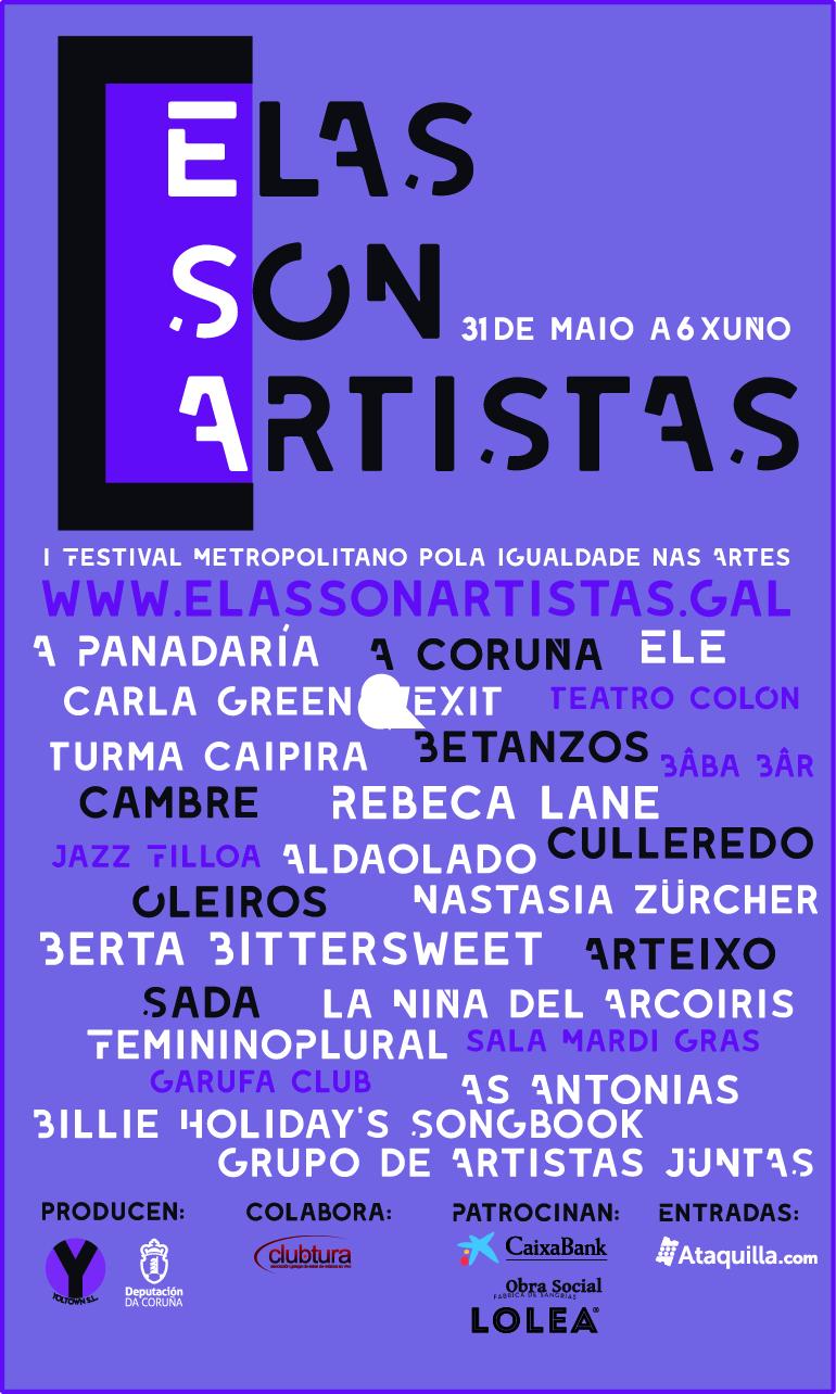 A Coruña, Betanzos, Cambre, Culleredo, Oleiros, Sada e Arteixo acollerán as actuacións do 31 de maio ao 6 xuño
