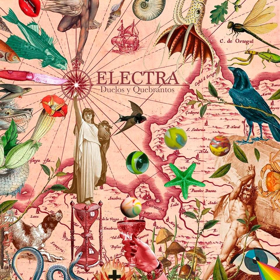 A banda Electra presenta o seu primeiro disco 'Duelos y Quebrantos'
