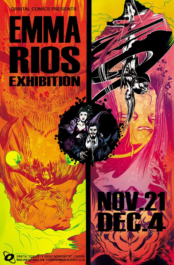 Rubín e Cons presentan os seus traballos en Francia e Bélxica e Emma Ríos expón en Londres