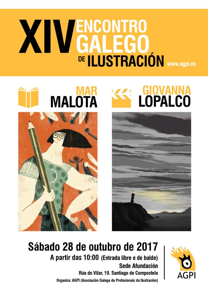 Compostela acolle o XIV Encontro de Ilustración