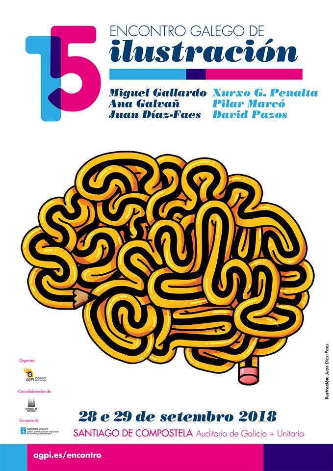 A Asociación Galega de Profesionais da Ilustración presenta un programa ampliado para o 28 e 29 de setembro