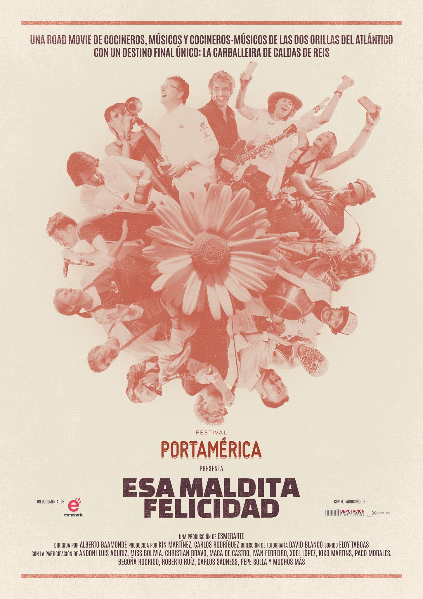 Alberto Baamonde dirixe 'Esa maldita felicidad' que se estrea mañá na canle de YouTube do festival