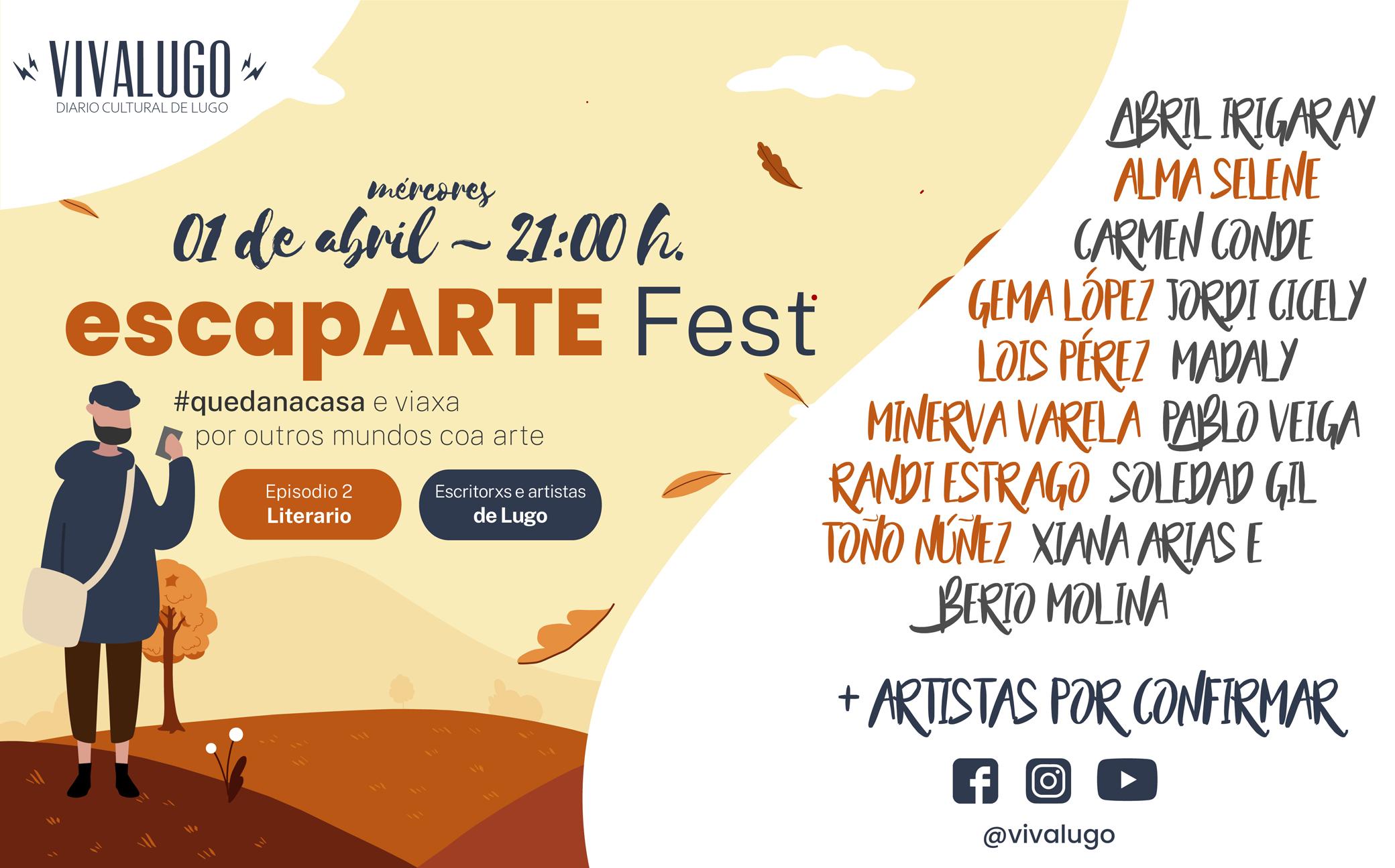 Desde Pontevedra arrinca hoxe o Ánimofest mentres en Lugo organizan o EscapARTE Fest