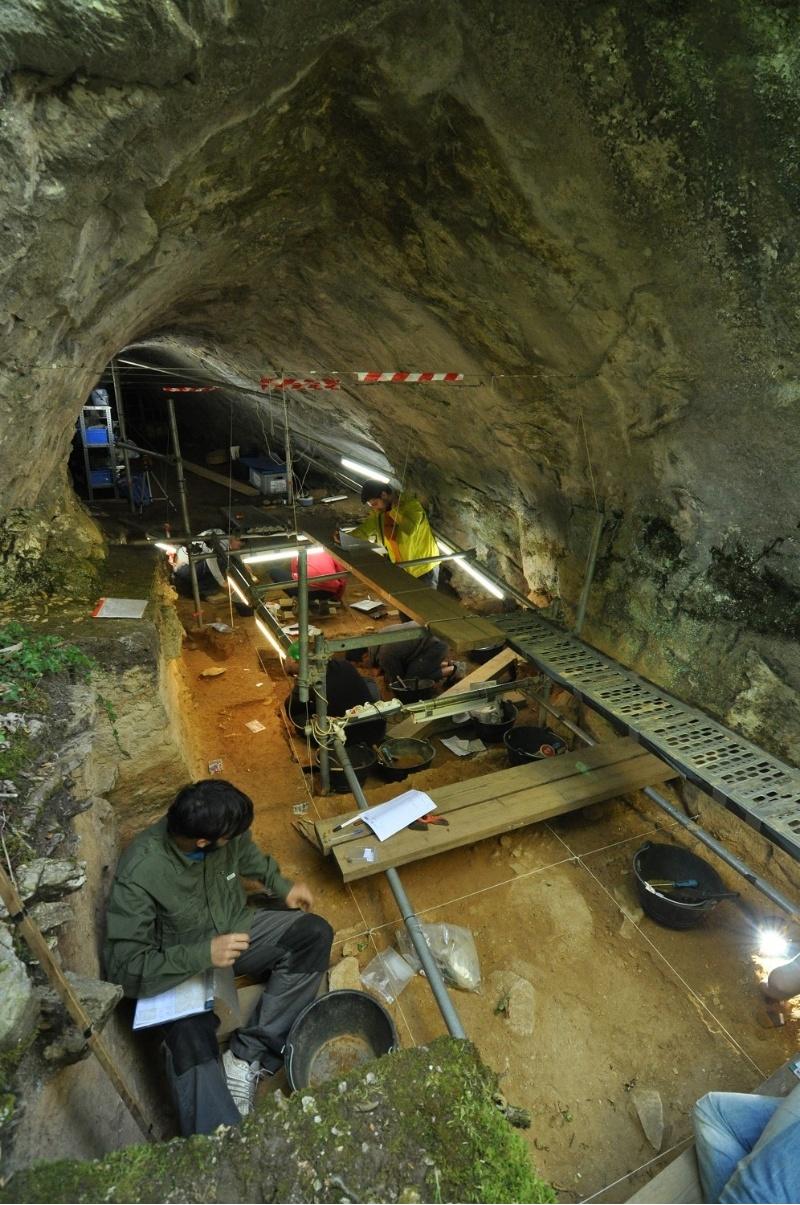 Os investigadores do depósito presentaron o resultado da última campaña de escavacións