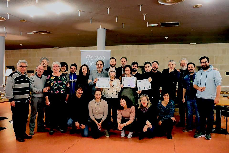 Escena Galega nomea socias de honra ás compañías Teatro do Atlántico, Teatro do Noroeste e Teatro do Morcego