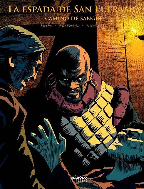 A serie de BD <i>La espada de San Eufrasio</i> chega á súa cuarta entrega