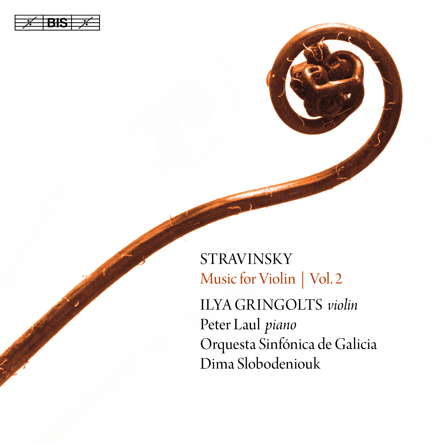A Orquestra Sinfónica de Galicia entra no catálogo de BIS Records