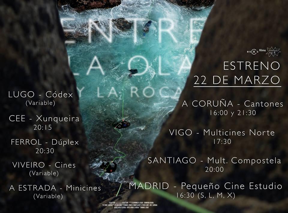 Chega aos cinemas <i>Entre la roca y la ola</i>, un documental sobre percebeiros