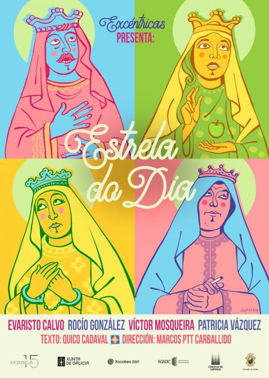 O Teatro Rosalía acolle este sábado a montaxe que interpreta en óptica contemporánea as cantigas de Santa María