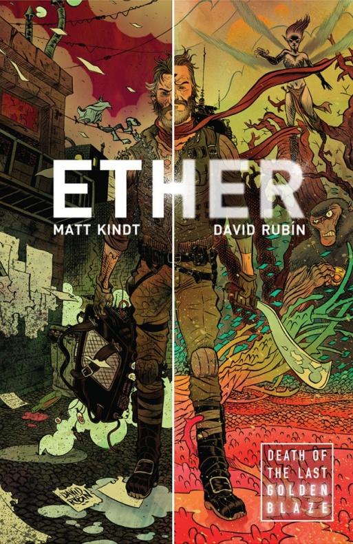 Dark Horse publicará a serie <i>Ether</i> con debuxo de David Rubín