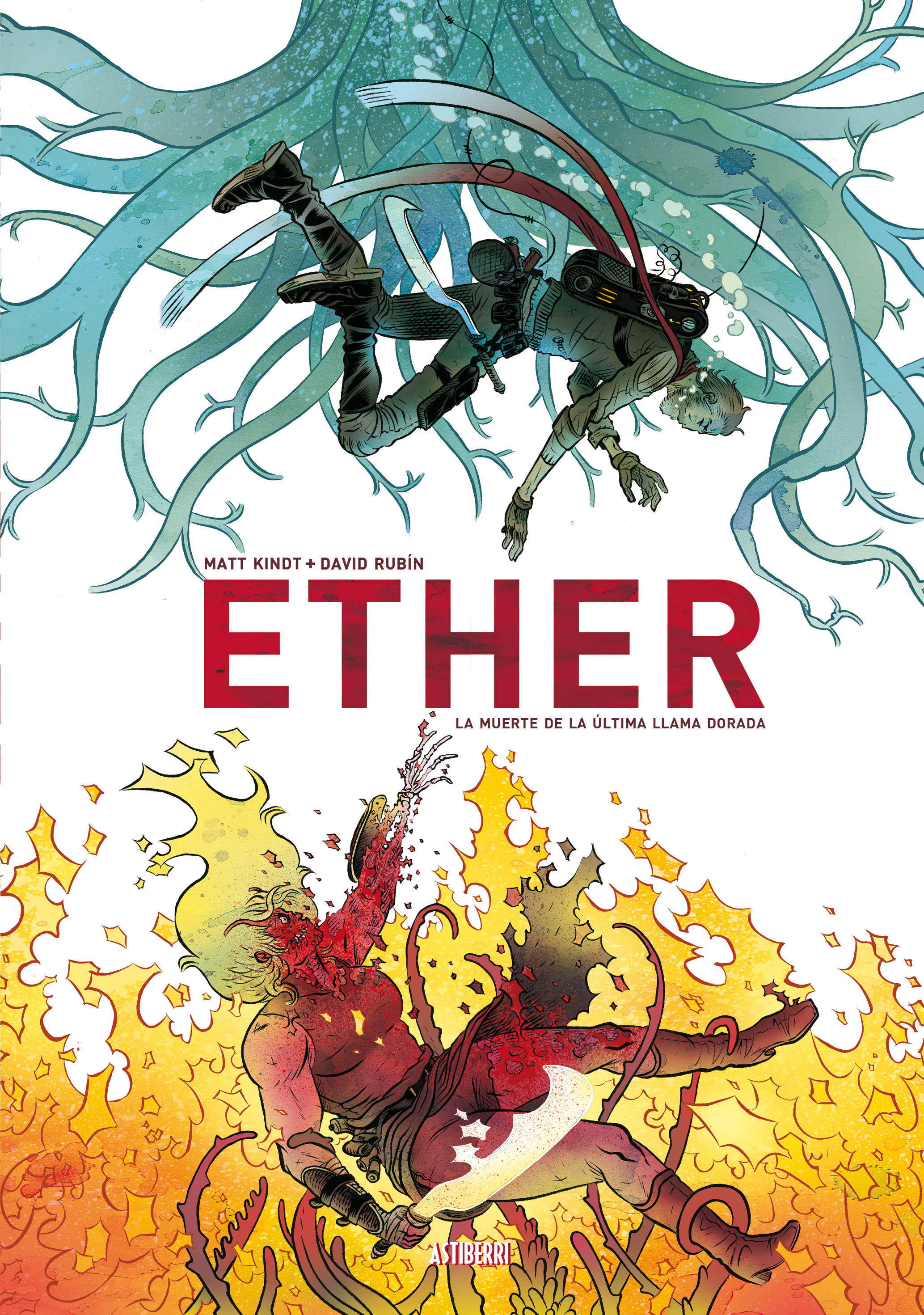 Astiberri publicará o <i>Ether</i> de Rubín en castelán