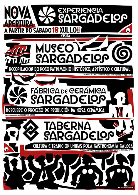 Sargadelos e Oleiros acollerán espazos dedicados a histórico galeguista