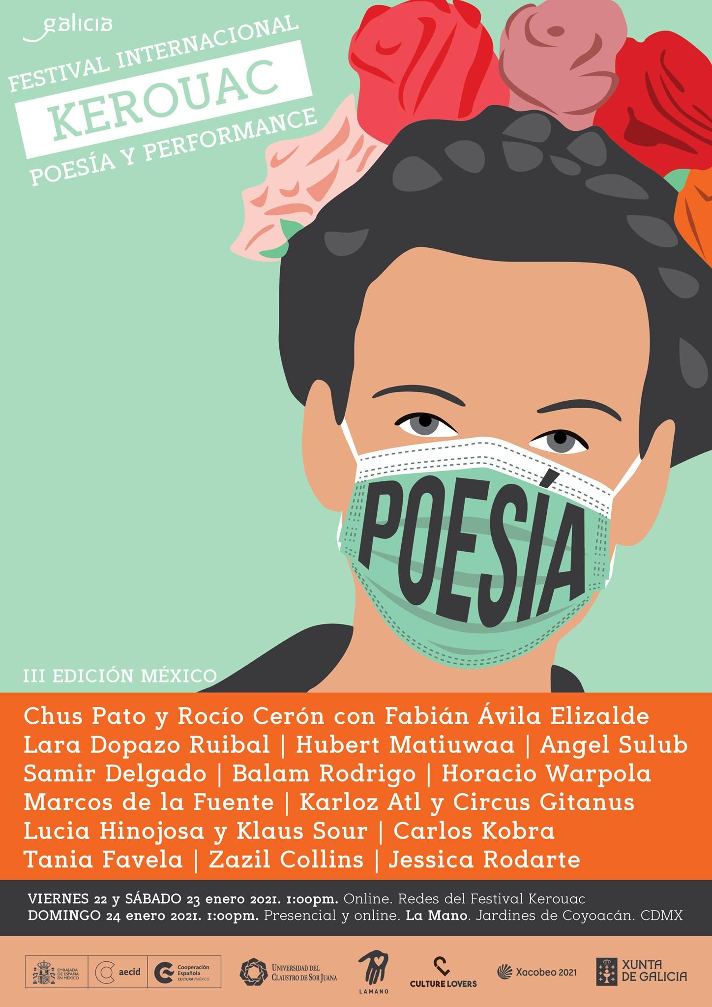 Poesía galega, estadounidense e mexicana danse cita no encontro entre o 22 e o 24 de xaneiro