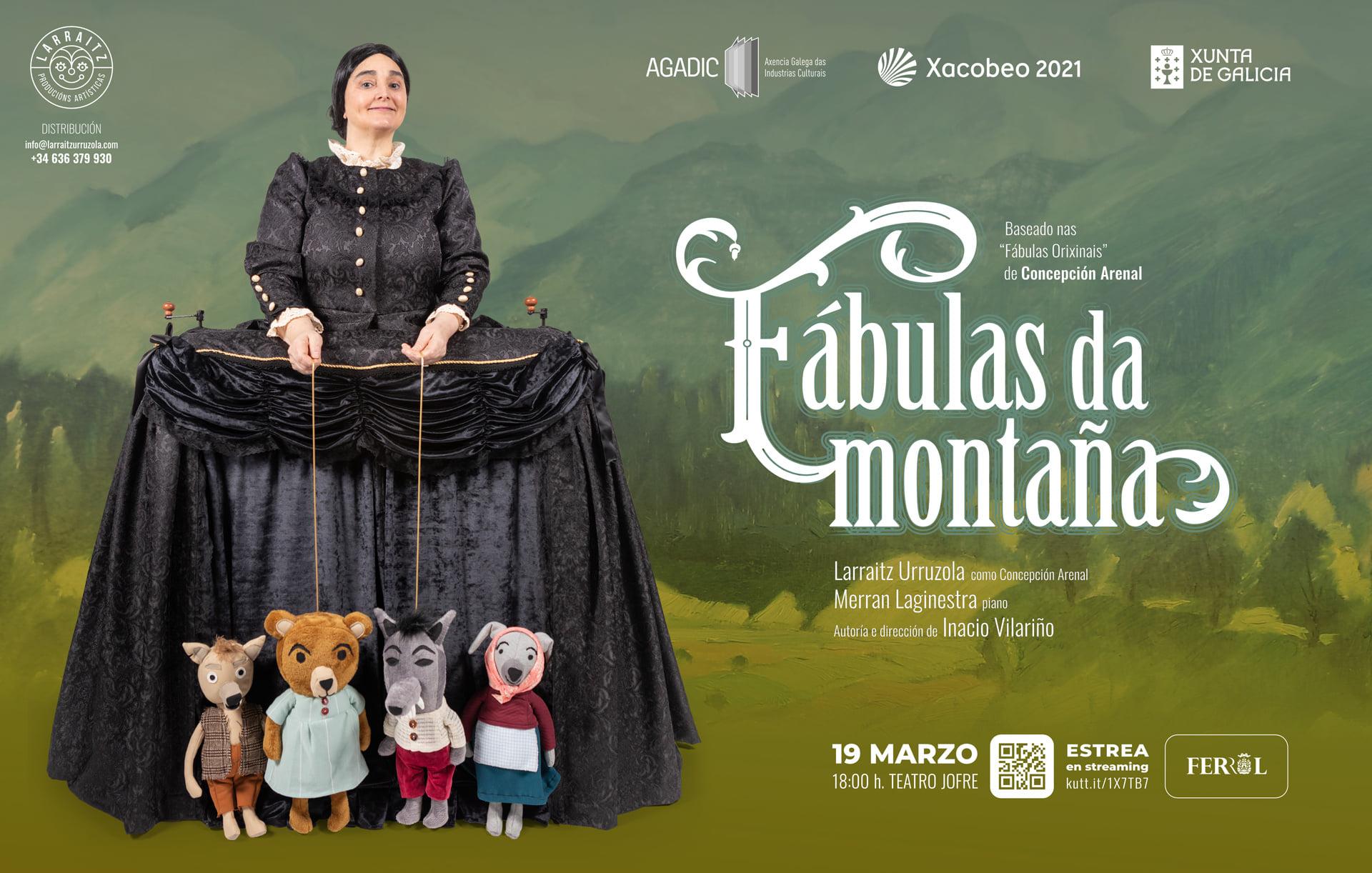 O Teatro Jofre acolle este 19 de marzo a estrea ao vivo e en liña da montaxe