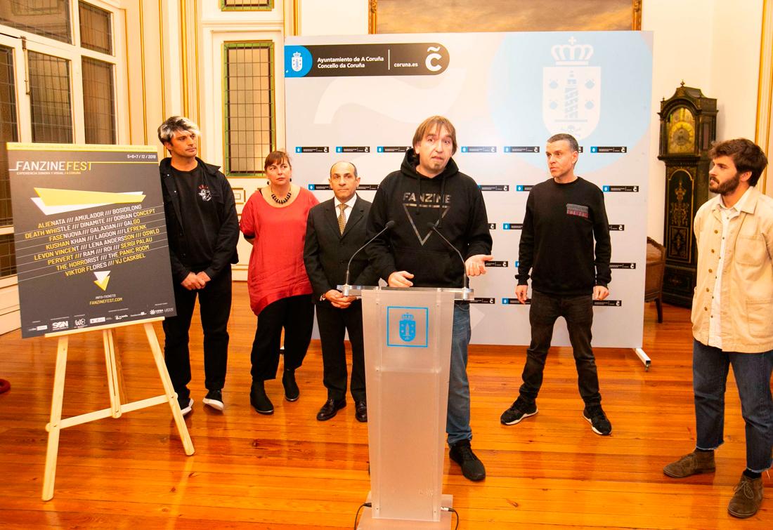 O festival celebrará a quinta edición na Coruña entre o 5 e o 7 de decembro