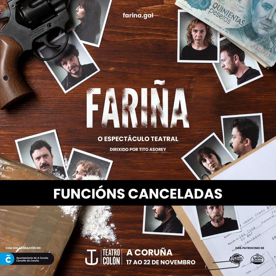 A produtora ve inviable levar a obra a Coruña e Pontevedra con 60 persoas por pase