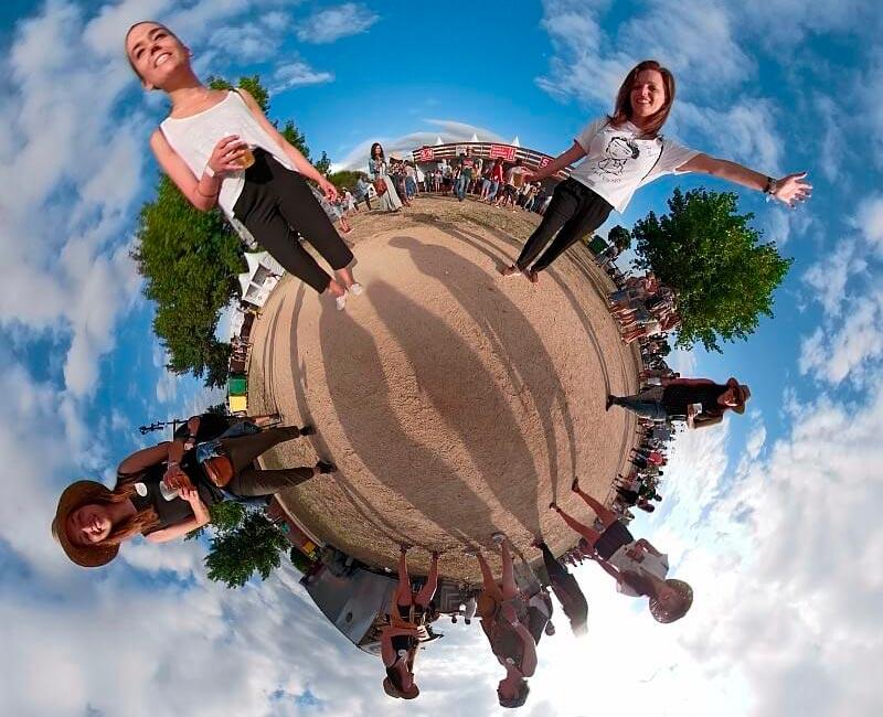 As avaliacións de 360 graos feitas dos festivais nos permiten unha visión en detalle de eventos moi diferentes que posúen parámetros comúns