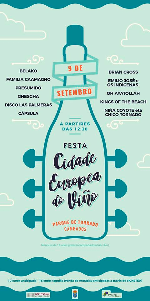 Cartel do evento